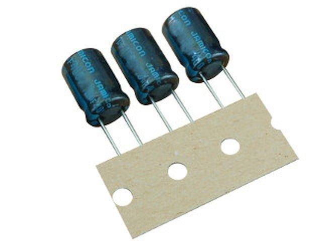 ELKO 4.7uF 450V 105°C 10x16 álló 4.7/450P-105 X