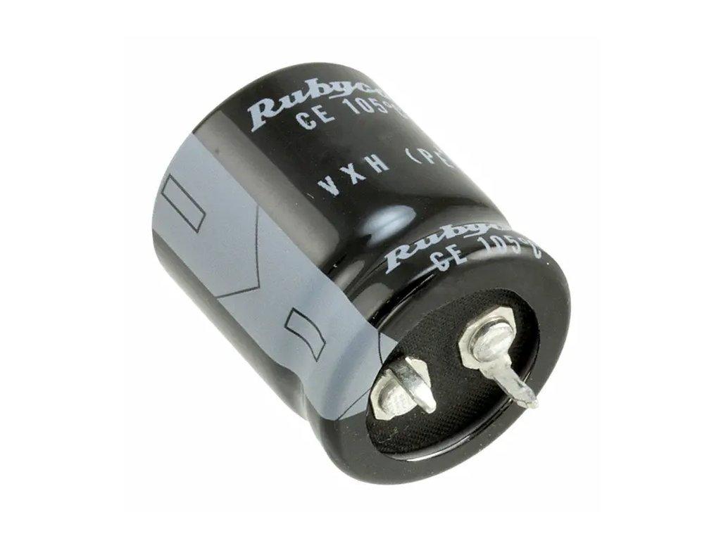 ELKO 180uF 450V 105°C 22x40 2p. Snap-In 180/450P-105 22X40