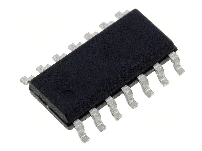 QUAD OP-AMP. -20..+70c 14p. SMD UPC451G