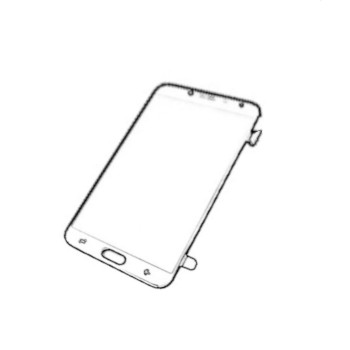 LCD Samsung SM-A720F Galaxy A7 (2017) arany/gold GSM-GH9719723B
