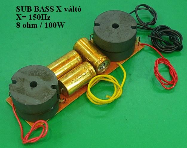 Hangváltó 100W 8ohm SUB BASS SPEAKER HV/SUB2