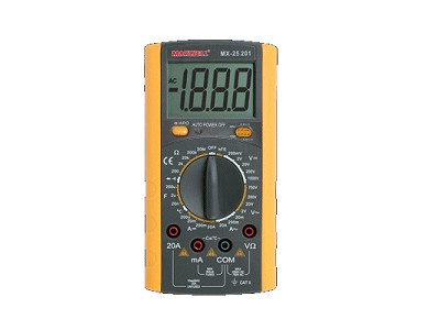 3.5Digit LCD Digital multimeter, 9-funkció M.M-MX-25201