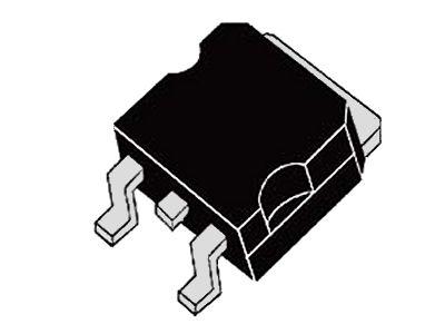 Tirisztor 1200V 18A/300Ap Igt:45/60mA Ih:100mA SMD 25TTS12S