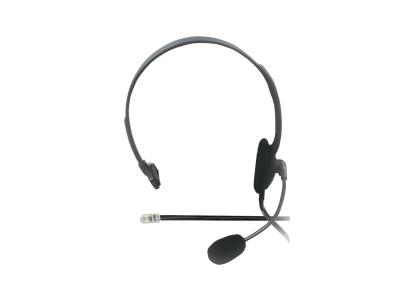 RJ9 csatlakozó 4p Headset fekete HEAD PHONE RJ9