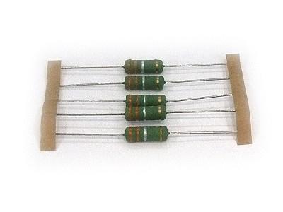 5W huzal ellenállás AXIAL (hengeres) 0.1R 5% 6x17mm RES 0R10 5WH
