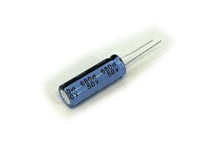 ELKO 680uF 50V 105°C 13x25 Low-ESR 680/50P-105ESR-T