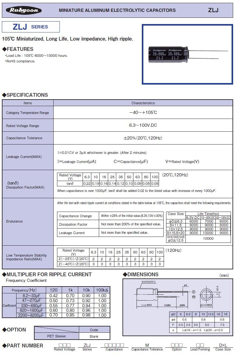 ELKO 1000uF 25V 105°C 10x21 Low-ESR ZLJ 1000/25P-105ESR R1