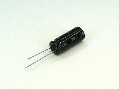 ELKO 330uF 50V 105°C 10x25 Low-ESR FR 330/50P-105ESR P
