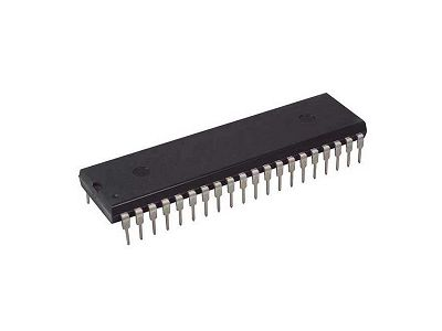 8-Bit 8K, 24MHz, I/O 32, mikrokontroller ´51. 40p AT89S52-24PU
