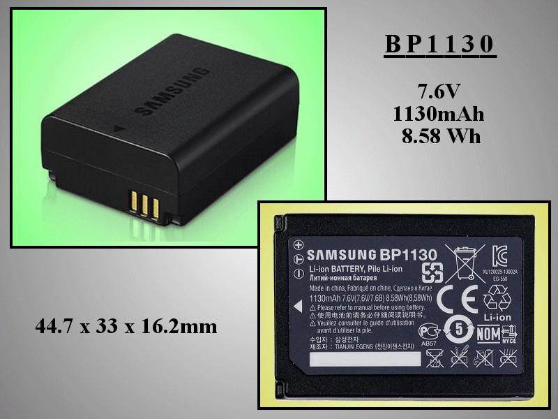 Li-Ion 7.6V 1130mAh akkumulátor BP1130 ACCU FOT-060 -