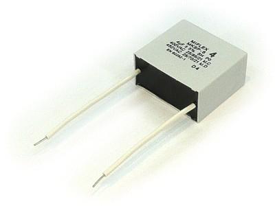 Szűrő kondenzátor 1.5uF 400VAC 41,4x28,5x16 W0-C0015/400 L