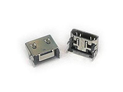 HDMI 19p aljzat panelre SMD CSAT-HDMI01-SMD