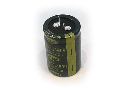 ELKO 10000uF 50V 85°C 30x45 Snap-in 10000/50P S
