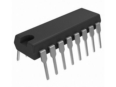 DECADE COUNTER DIVIDER 16p. DIP 4017 MC14017BCP