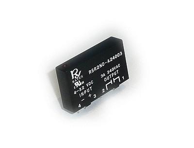 SSR relé. 24-280V 3A 4...32Vdc, Egyfázisú szilárdtest RELAY-RSR2ND