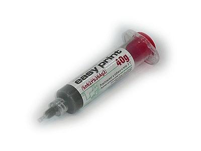 Forrasztó paszta EasyPrint 40g. SN62% Pb36% Ag2% PPE-TIN2/040G