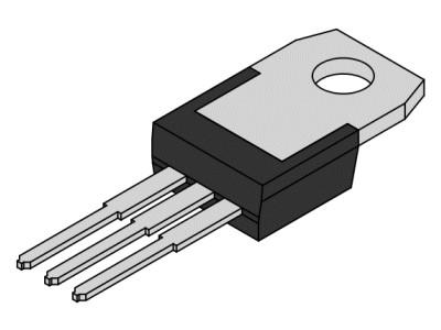 Tranzisztor NPN 70/50V 4A/8Ap. 40W 7MHz 2SD1133 2SD1133