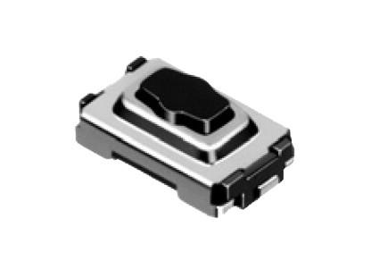 SMD mikrokapcsoló 6.1x3.7x2.5mm 2p gomb:0.4mm