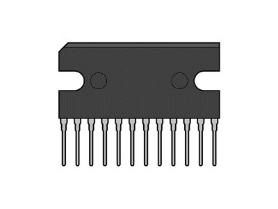 POS V-REG 3x POWER SUPPLY 12p. BA3950A