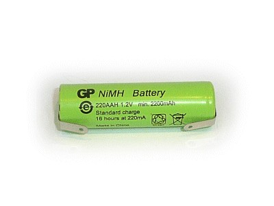 Ni-MH 1.2V 2200mAh akkumulátor 14x49mm ACCU-1.2/2200AA