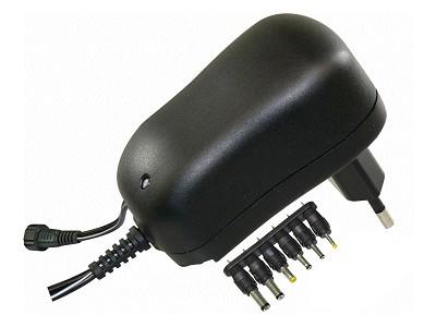 110...240VAC stabilizált tápegység 3...12VDC 1A 12W P.SUP.1000/M