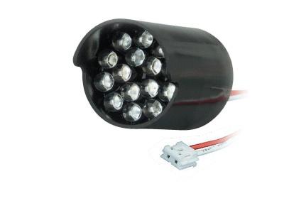 LED5mm zöld, víztiszta 15db LED klaszter 900...2500mcd LED MODUL-G15-47