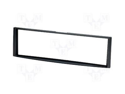 Rádiókeret, 1 DIN Renault fekete CAR-BOX40.137