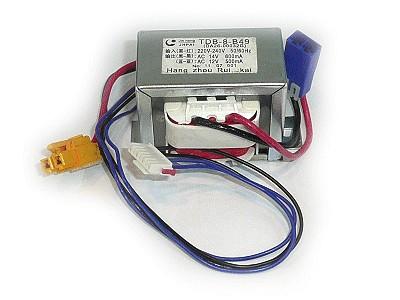 Hálózati trafó 230VAC, 12VAC / 14VAC W8-DA2600032G
