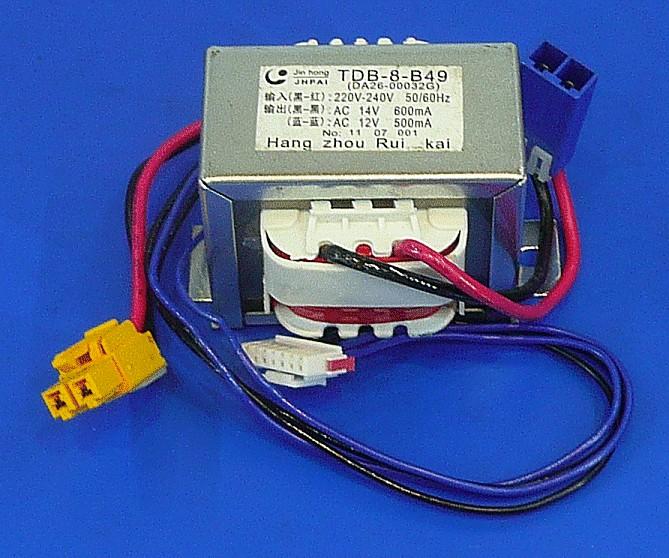 Hálózati trafó 230VAC, 12VAC / 14VAC W8-DA2600032G -