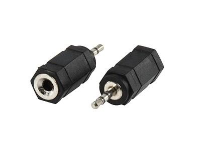 Jack 2.5mm sztereó dugó - Jack 3.5mm sztereó aljzat AC-018