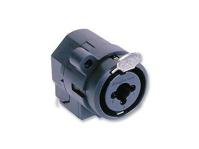 XLR + Jack6,35mm stereo aljzat (beépíthető) XLR-ACJC6H