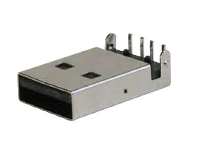USB-A dugó 4p. PCB CSAT-USB-A/P