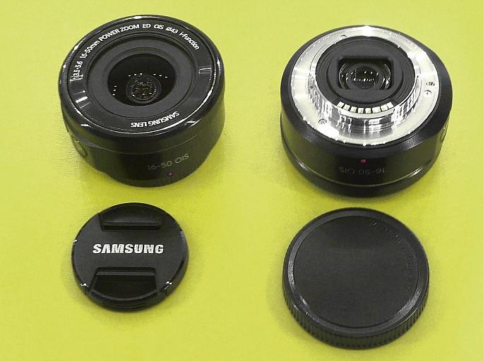 Samsung NX 16-50 mm f/3.5-5.6 Power Zoom ED OIS objektív FOT-AD9724130A -