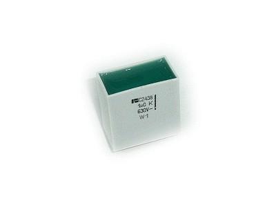 Kondenzátor 1.0uF 630V Poliészter RM-27,5 C 1U0 630/C2438