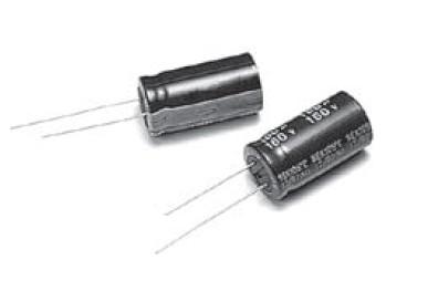 ELKO 150uF 25V 105°C 8X11 álló 150/25P-105