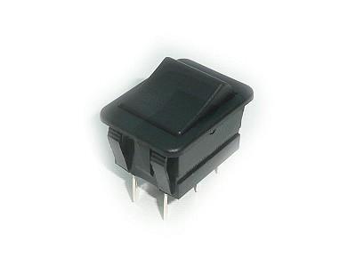 Billenő fekete 2 áramkörös monostabil ON-(ON) SW2221