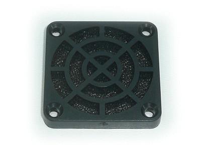 Műanyag rács szűrővel ventilátorhoz 45ppi 40X40 CYP F-040/45