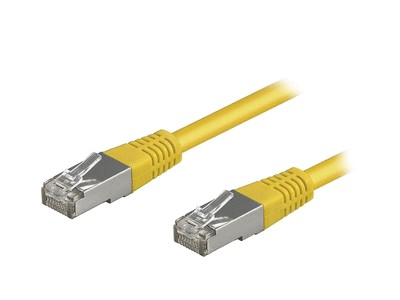 CAT5E UTP patch kábel 20m 8p. Sárga CABLE UTP/20EY