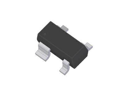 SB-D SMD DUAL SCHOTTKY 40V 0.2A 0.3W 5pF BAS40-07