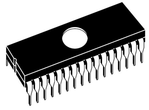 C-UV-EPROM 512Kx8 100nS 5V 32p 27C4001-100