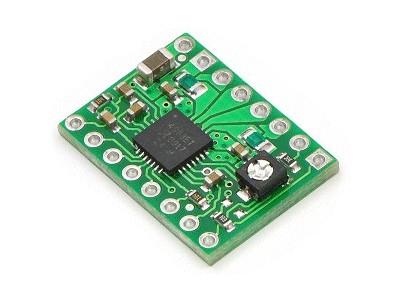 Léptetőmotor vezérlő panel  IC: A4988 KIT-1501