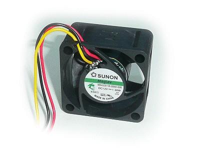12V ventilátor 40x40x20 MF40201VX-G99 3vezetékes CY 4020/12-VX-G99