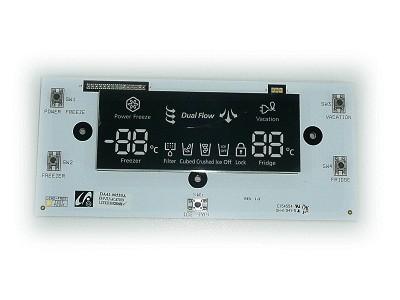 Hűtő kijelző W8-DA4100533A