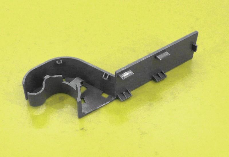 Zsanér takaró műanyag bal W8-DA6307385A -