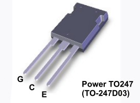 N-IGBT+D 600V 150A/225Ap 428W Vce(sat)1.9V FGY75N60SMD