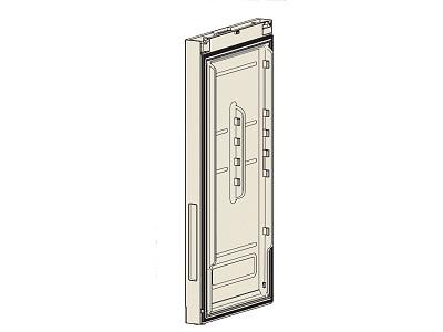 Hűtő ajtó -> fekete üveg W8-DA9102921A