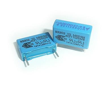 Y2 kondenzátor 15nF 300VAC ±20% L:15mm C 15N AC300 Y2