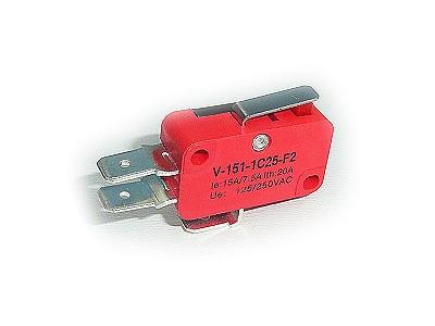 Mikrokapcsoló ON-(ON) 3p. 28x16x10mm SW11511LK-15