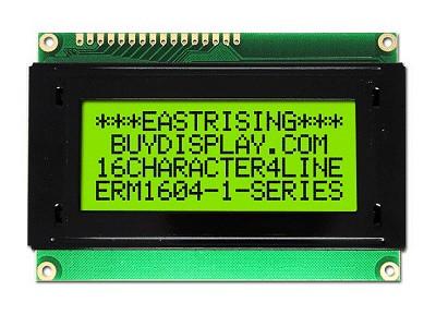 LCD Modul 4x16 Character 5*7Dots+Cursor LCD ERM1604SYG-6