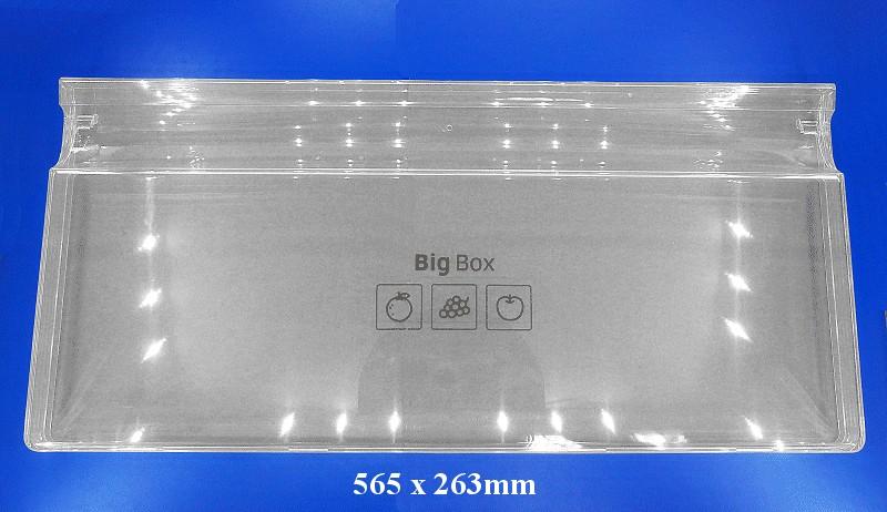 Hűtő zöldségtartó doboz eleje W8-DA6307378A -